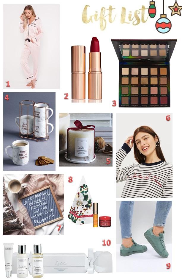 Gift List - Xmas